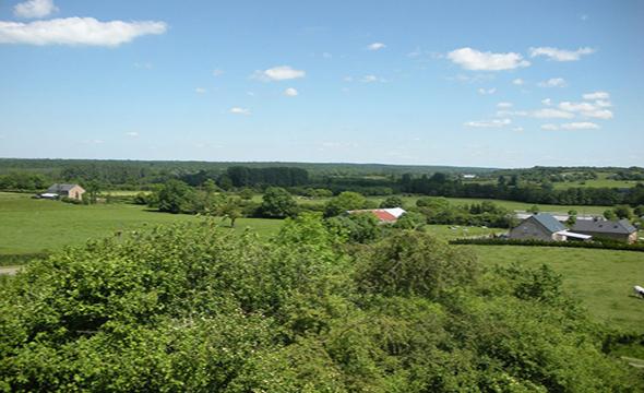 paysage typique du Sud-Avesnois et de la Thiérache